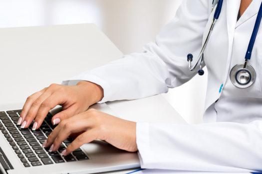 наполнить медицинский сайт