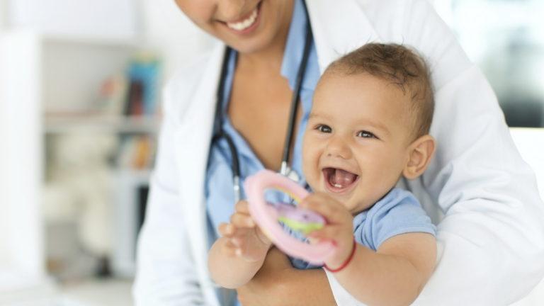 Реклама детской клиники